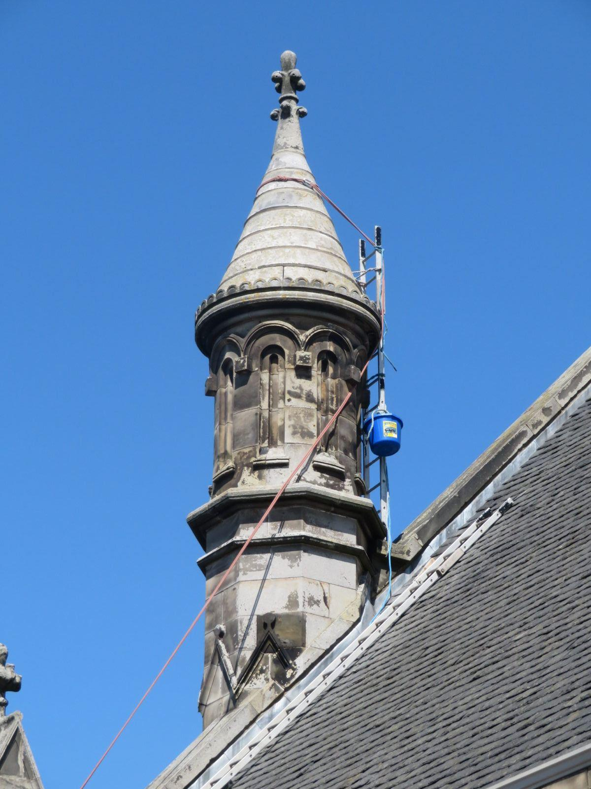 small church roof spire