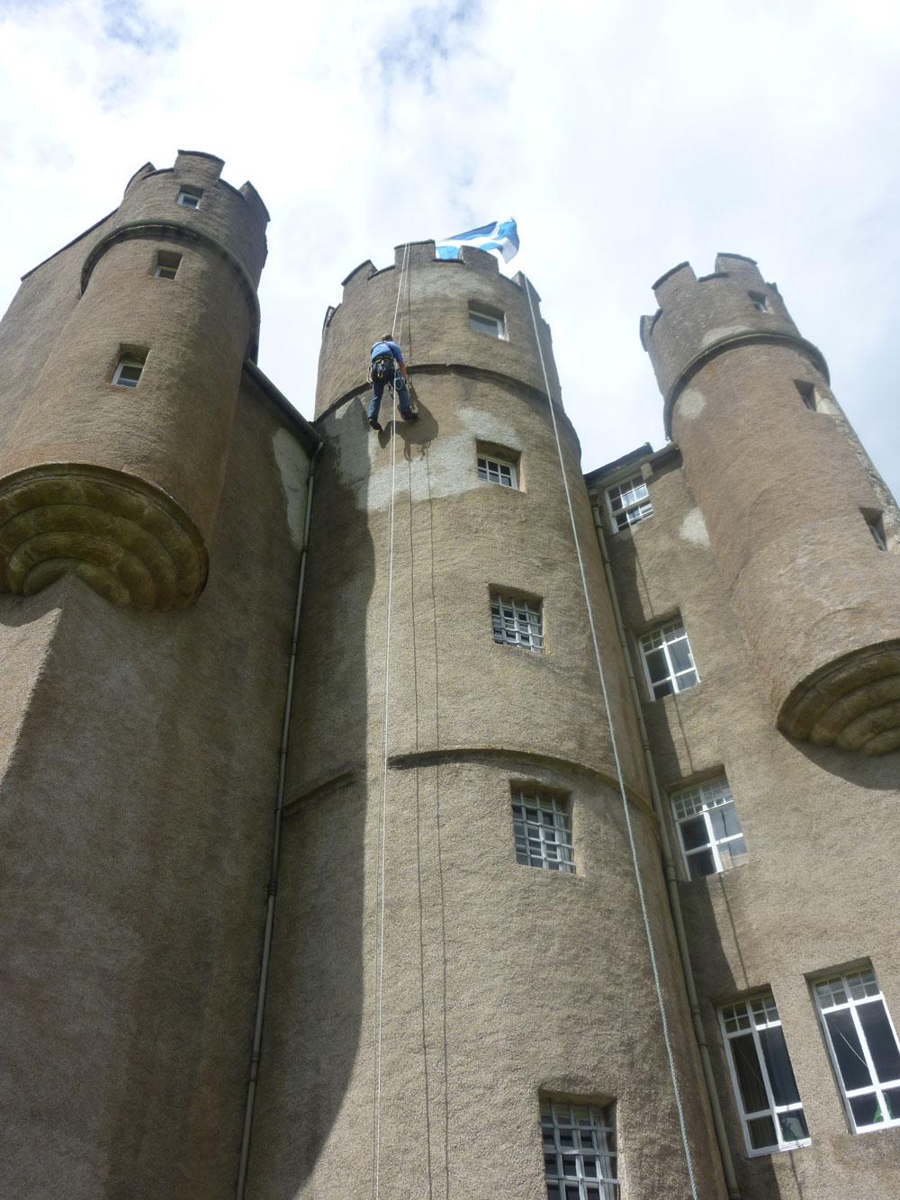 Braemar Castle Deeside Highland Bcm Steeplejacks