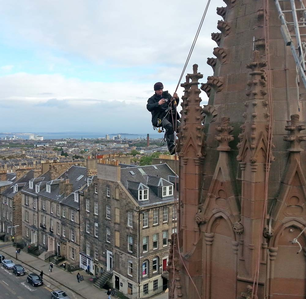 Edinburgh masonry inspection