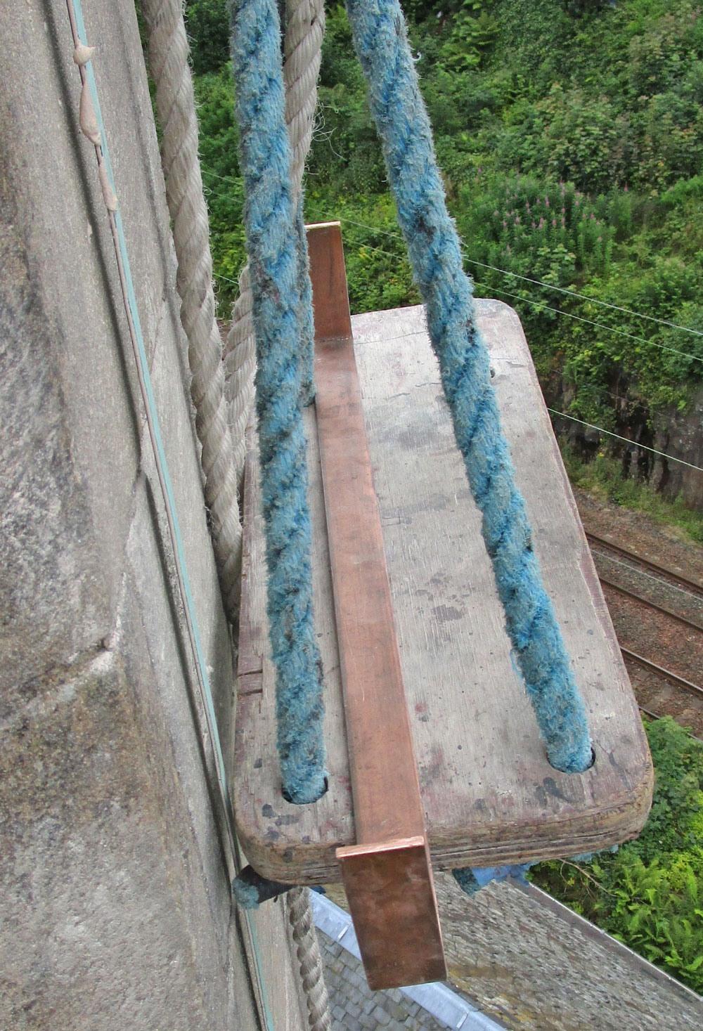 large copper cramp